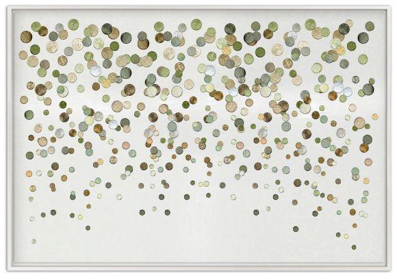Dots in deluxe handmade frames