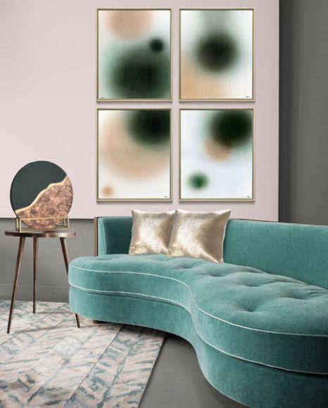 Jariq in deluxe handmade frame