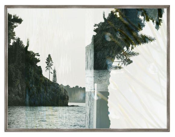 Kahakai photography in a standard factory frame.