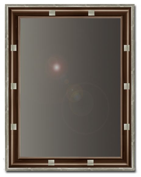 Mica - Mirror in a deluxe handmade frame