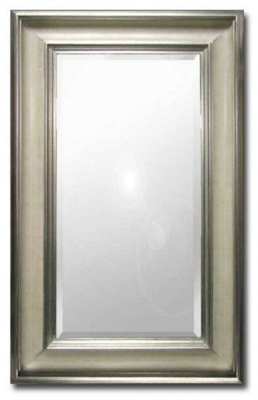 Alabaster - Mirror in a deluxe handmade frame