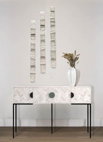 Centi Layered and textured wall sculpture