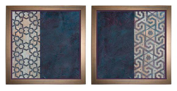 Figuex in deluxe handmade frames.