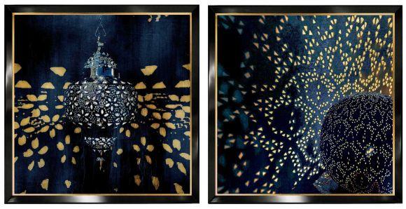 Bentram  in deluxe hand made frames.