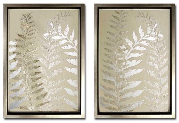 Ferns in Deluxe Frames