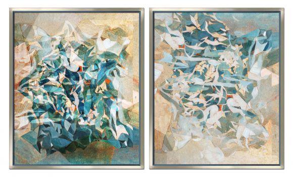 Flock in deluxe handmade frames.