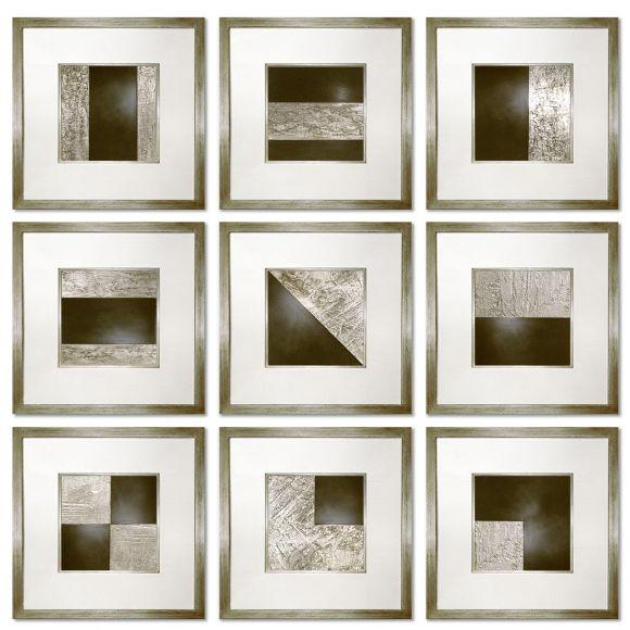 Pellier handpainted art in deluxe handmade frames