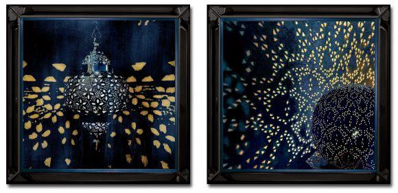 Bentram in deluxe black mirror frames.