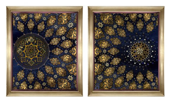 Rosetta in deluxe handmade frames.