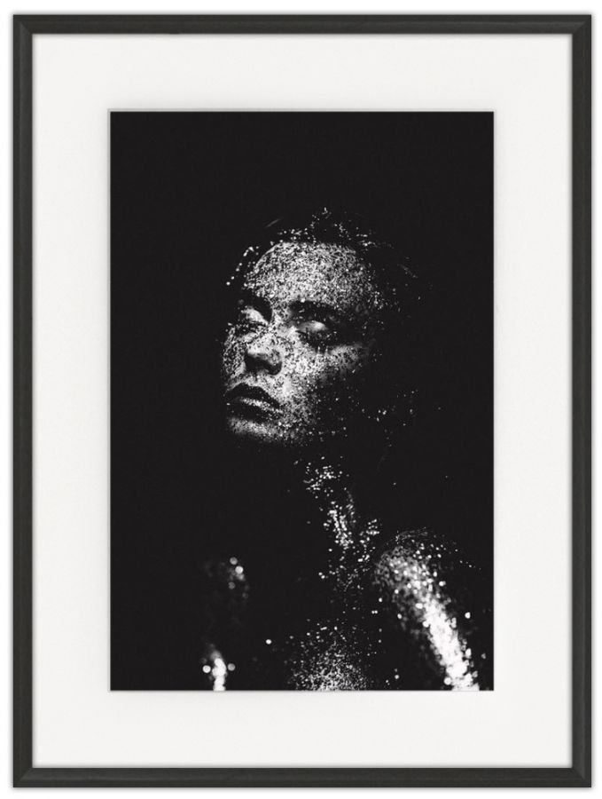 Shining Bright: Photographic print in a standard factory frame