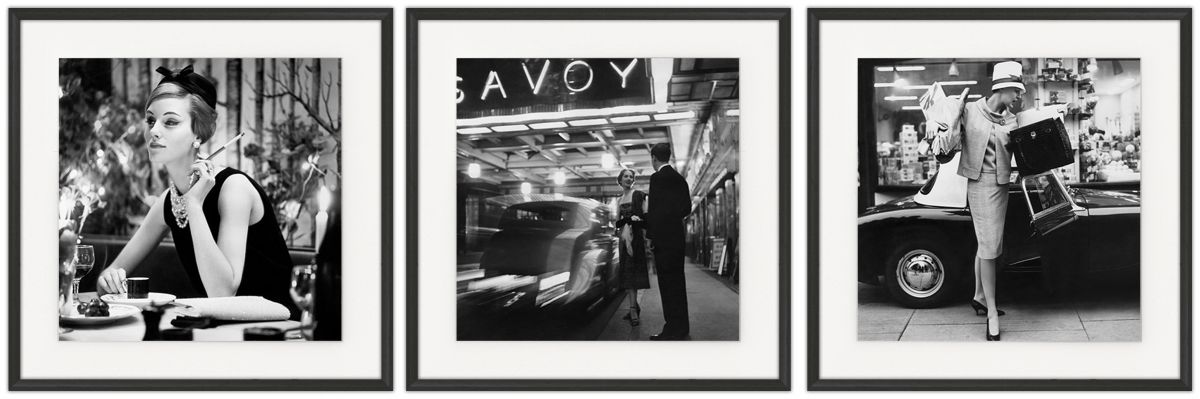Fashion & Lifestyle I: Photographic print in a standard factory frame