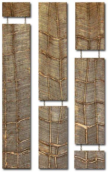 Bellagio Drops Design 3 columns - Copper