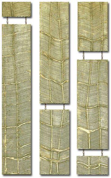 Bellagio Drops Design 3 columns- Gold