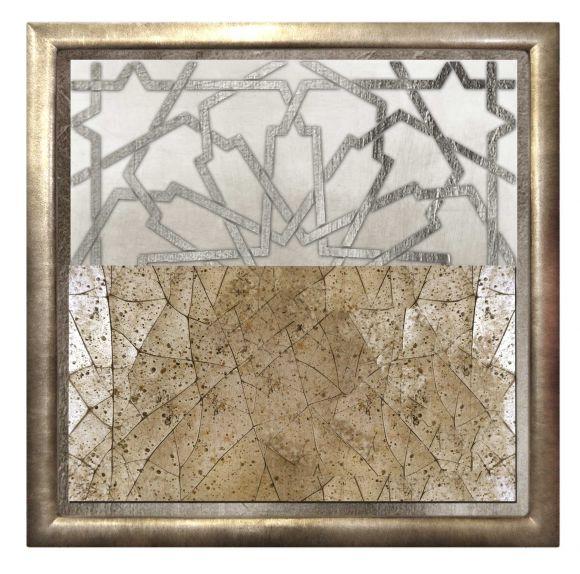 Atelo 03 in a deluxe handmade frame.