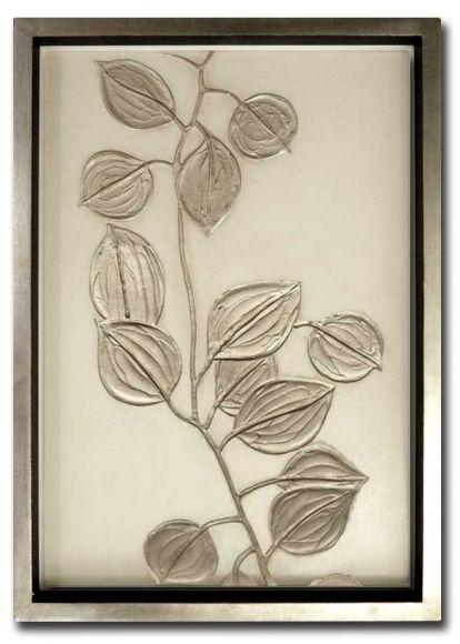 Eucalyptus 01 in a deluxe handmade frame