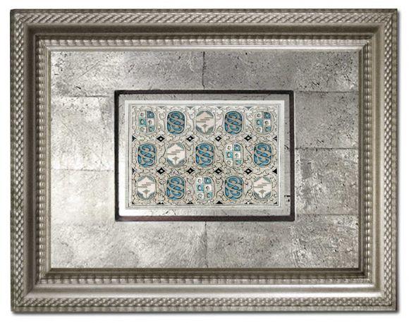 Uskar 01 in a deluxe handmade frame