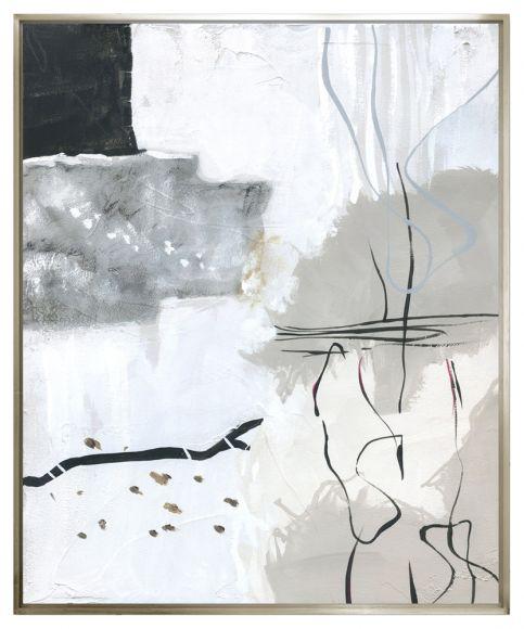 Etram 01 in a deluxe handmade ''L'' shaped frame