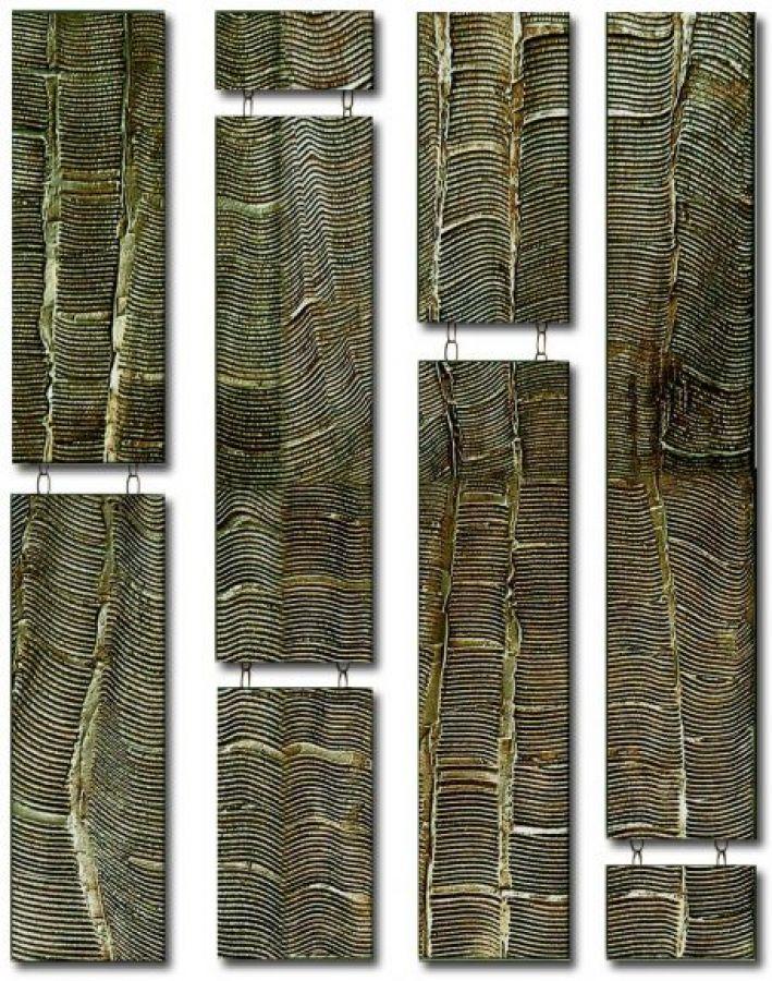 Bellagio Drops Design 4 columns- Bronze